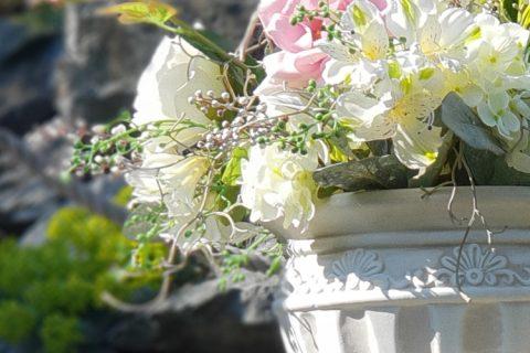 Romantické květiny